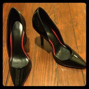 Charlotte Russe Black Patent Faux Leather Pumps